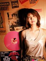 Miho Shiraishi Asian exposes big tits and naughty attitude at cam
