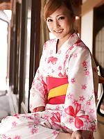 Natsuko Tatsumi Asian takes geisha dress off and shows racy body